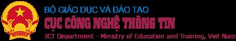 Bộ giáo dục và đào tạo cục công nghệ thông tin